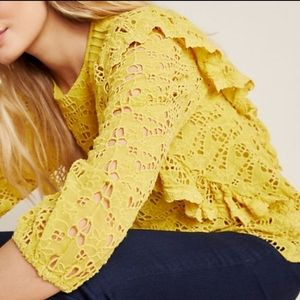 Brand New Anthropologie Clementine Blouse